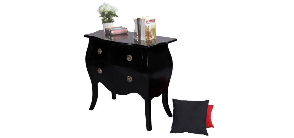commode noire brillante achetez nos commodes noires brillantes rdvd co. Black Bedroom Furniture Sets. Home Design Ideas