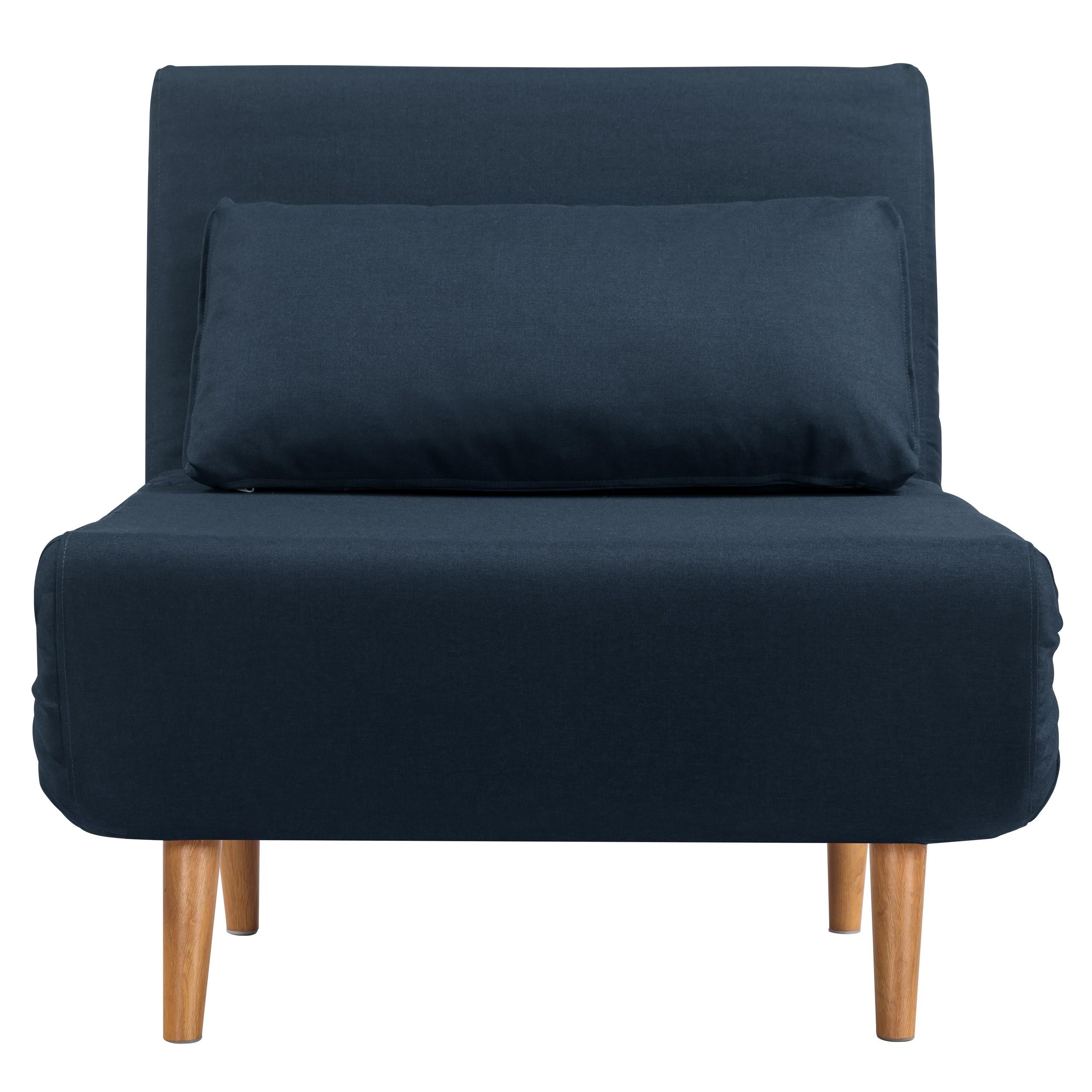 acheter fauteuil banquette bleu fonce