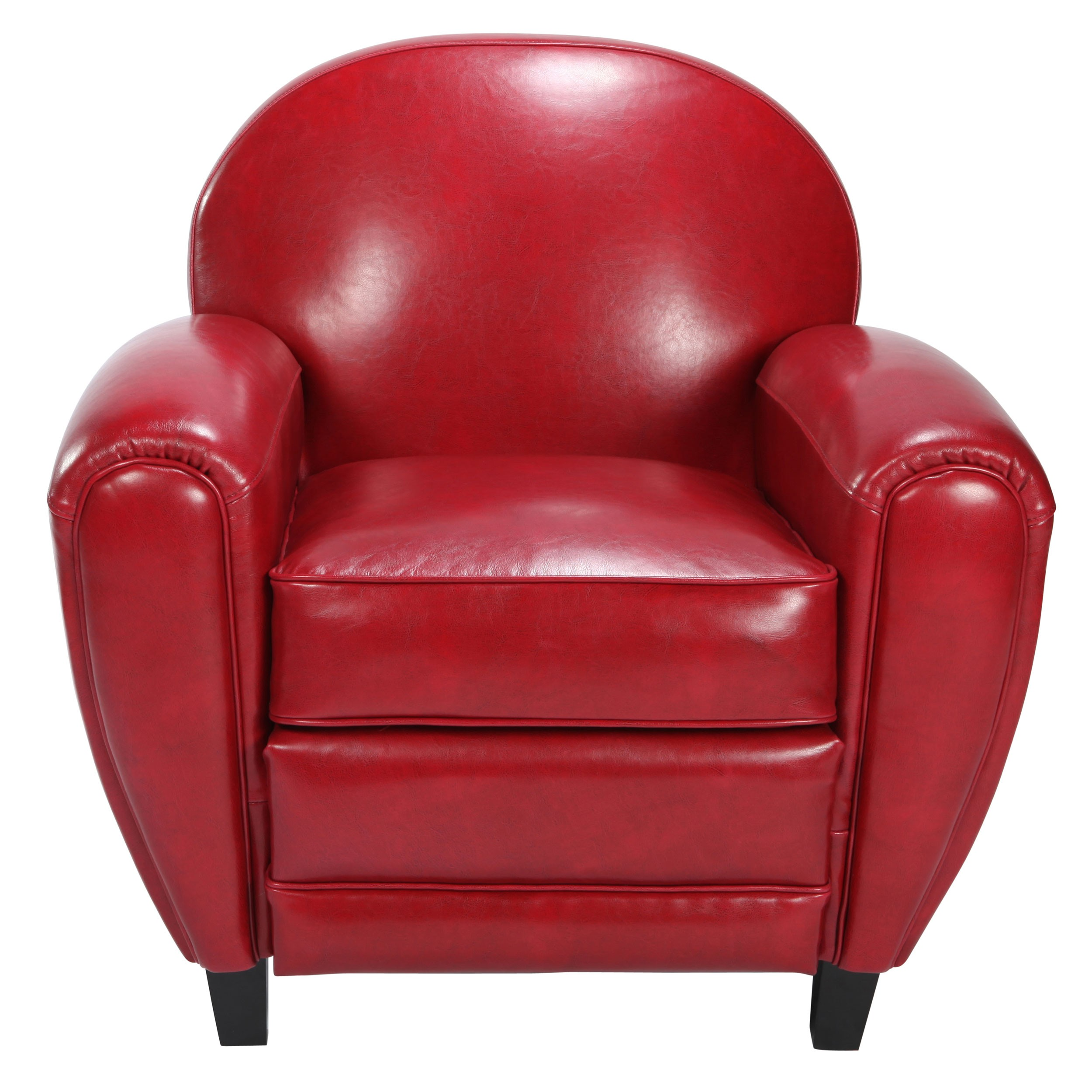 fauteuil club rouge choisissez nos fauteuils club en cuir rdv d co. Black Bedroom Furniture Sets. Home Design Ideas