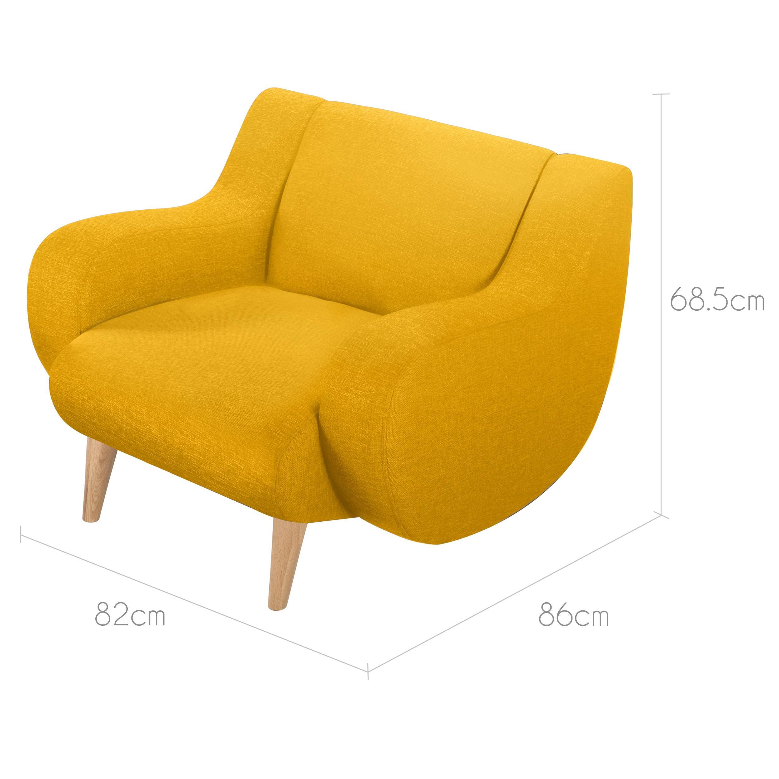 Fauteuil Stockholm jaune : installez nos fauteuils Stockholm jaunes ...