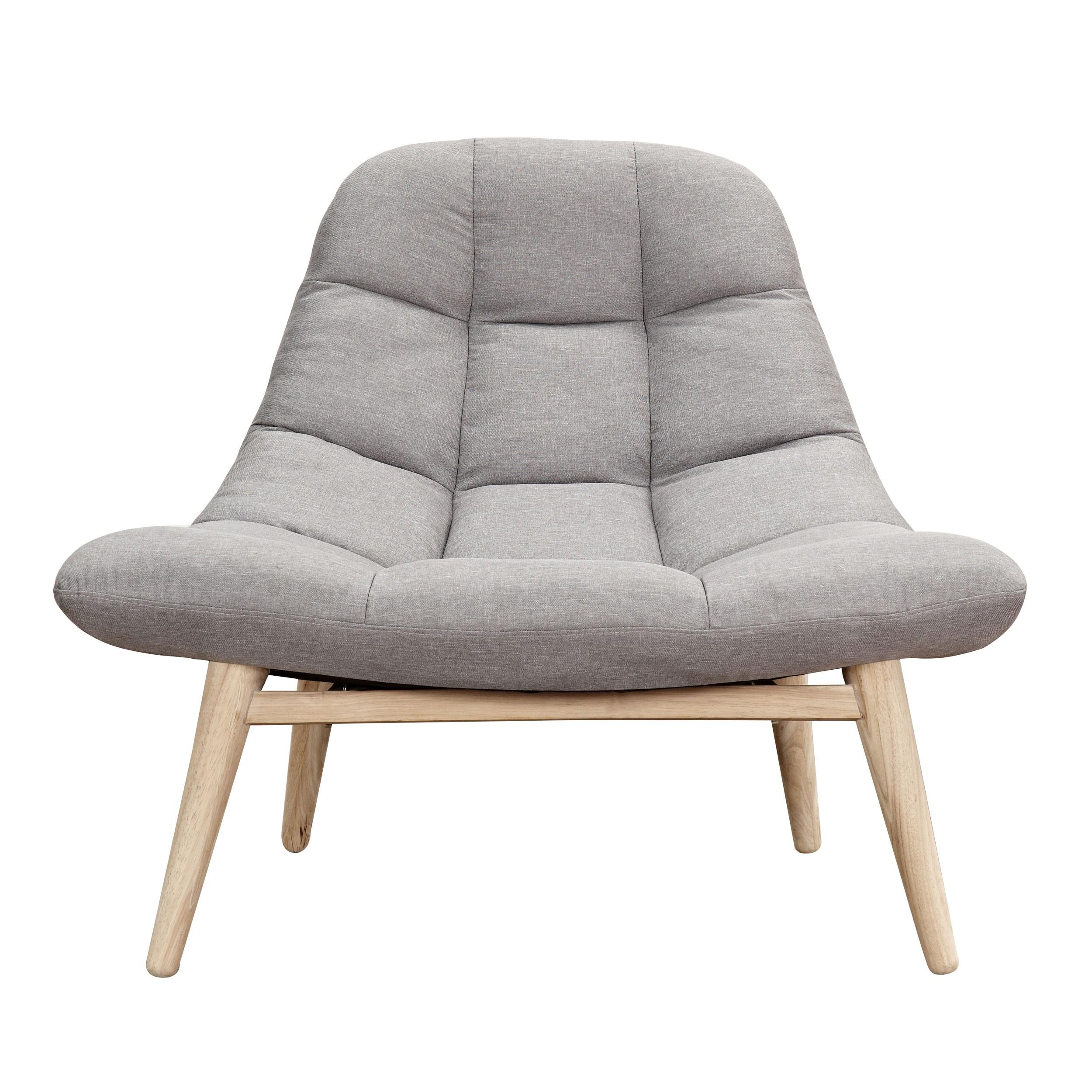 Fauteuil Melby gris perle : adopez nos fauteuils Melby gris perle ...