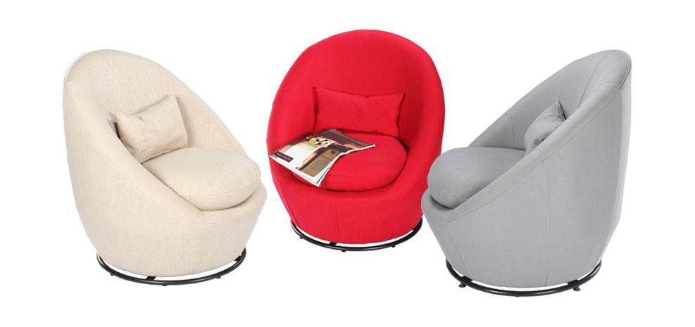 Fauteuil rond achetez nos fauteuils ronds moelleux et  prix mini