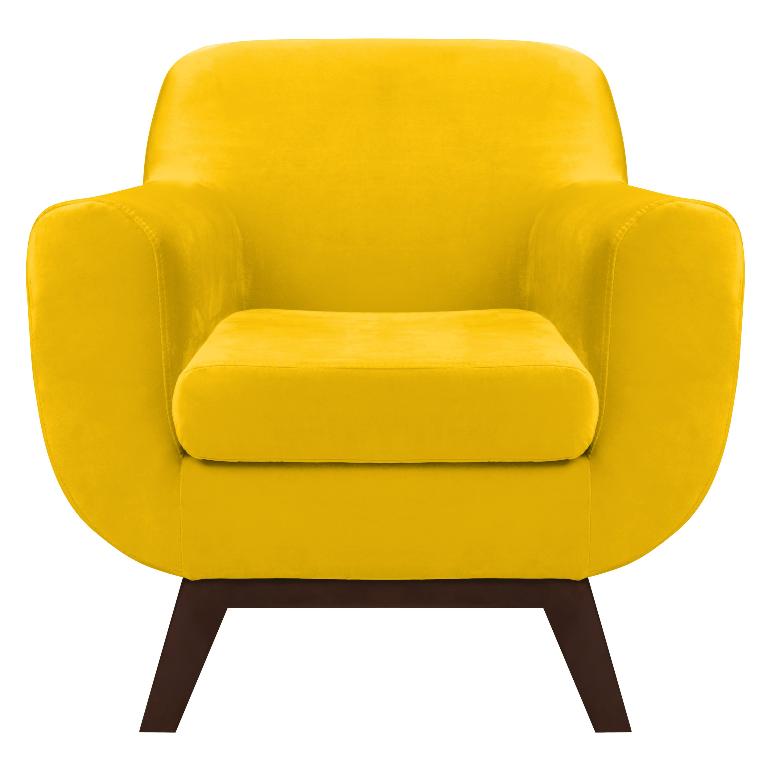 fauteuil copenhague en velours jaune d couvrez les. Black Bedroom Furniture Sets. Home Design Ideas
