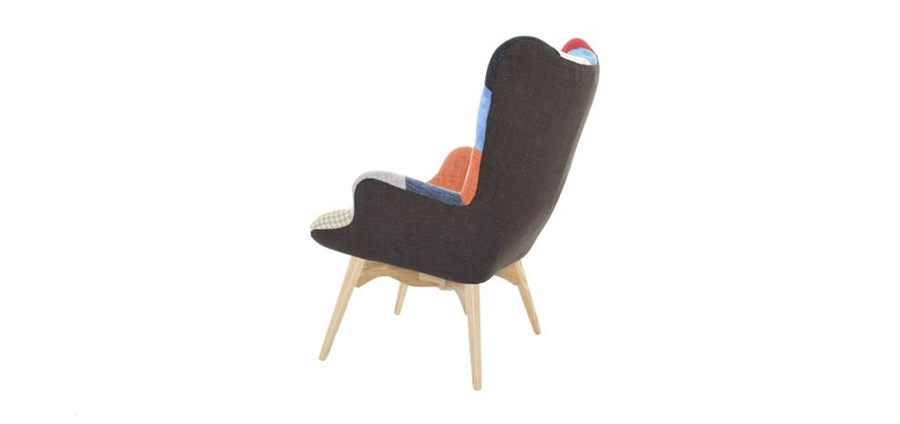 fauteuil a ko patchwork achetez nos fauteuils a ko patchwork design rdv d co. Black Bedroom Furniture Sets. Home Design Ideas