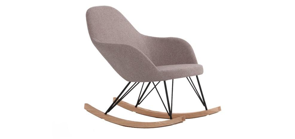 rocking chair malibu taupe adoptez nos fauteuils bascule taupe petit prix rdv d co. Black Bedroom Furniture Sets. Home Design Ideas