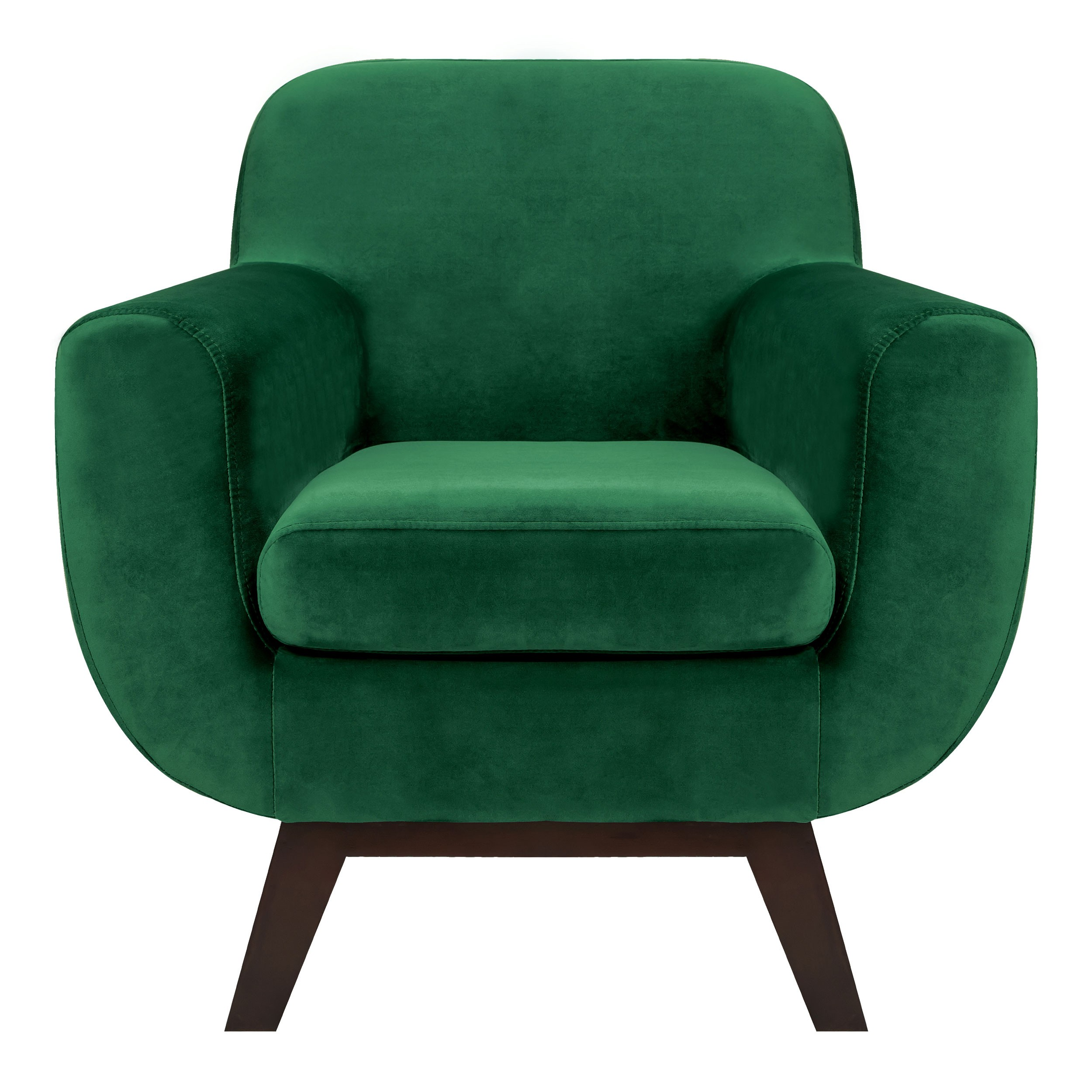 fauteuil copenhague en velours vert achetez les. Black Bedroom Furniture Sets. Home Design Ideas