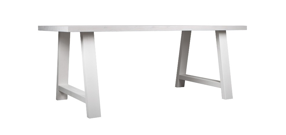 table 230 cm landes blanche optez pour nos tables 230 cm. Black Bedroom Furniture Sets. Home Design Ideas