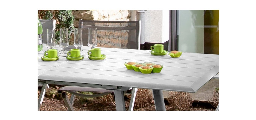 Best Grande Table De Jardin Extensible Photos - Design Trends 2017 ...