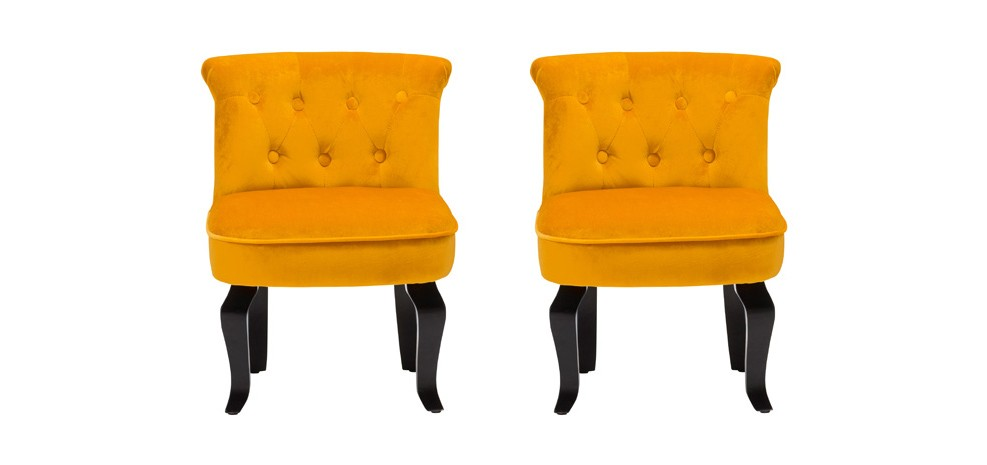 fauteuil crapaud orange lot de 2 profitez de nos fauteuils crapaud orange lot de 2 rdv d co. Black Bedroom Furniture Sets. Home Design Ideas