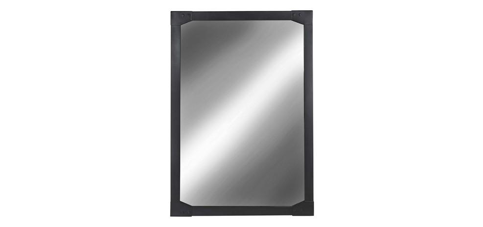 Miroir factory en m tal achetez nos miroirs factory en for Miroir usine deco