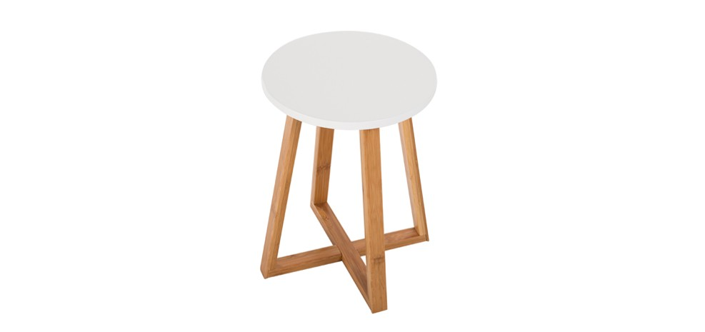 Table d 39 appoint ronde skandi commandez nos tables d - Table ronde d appoint ...