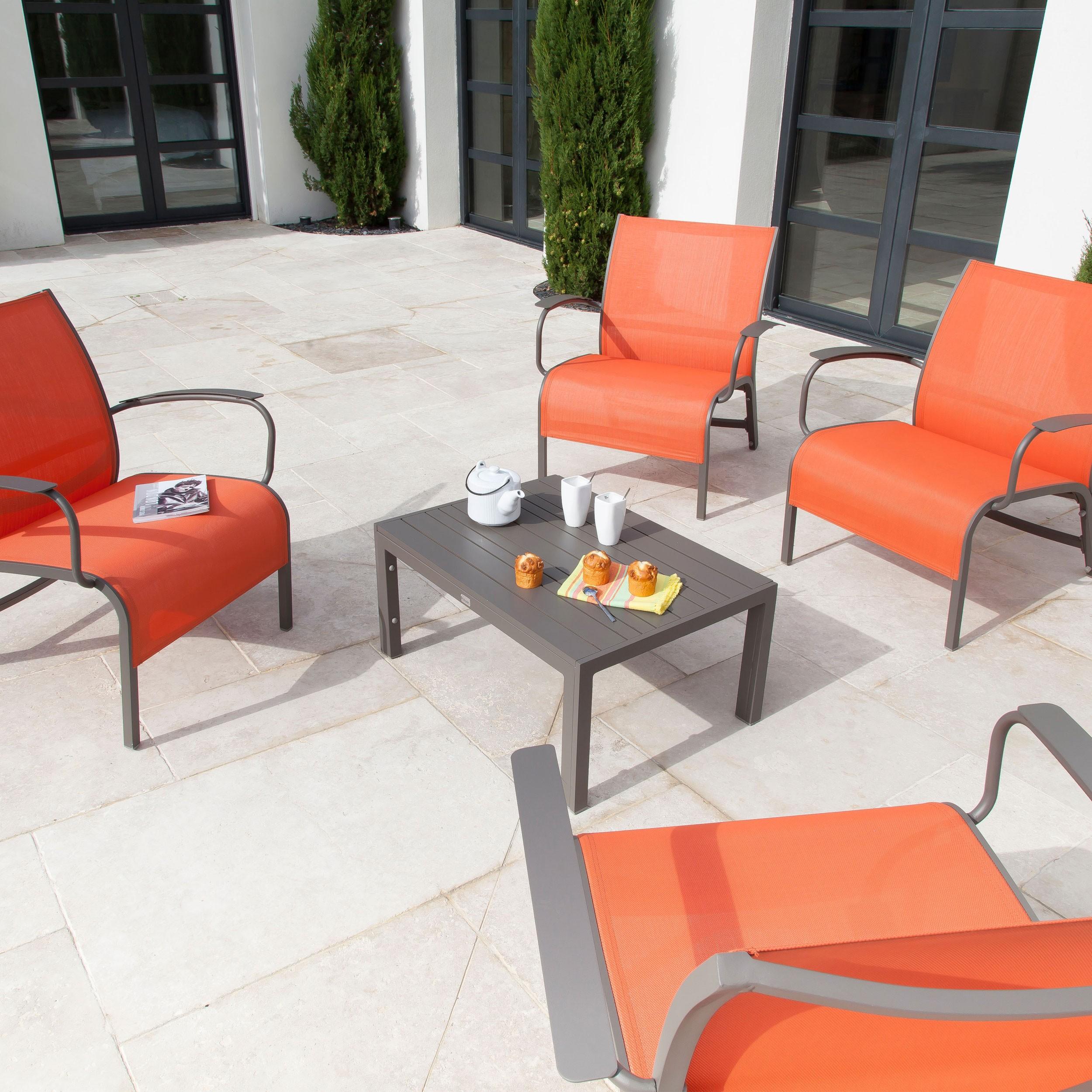 achat salon de jardin terracotta design pas cher previous - Achat Salon De Jardin
