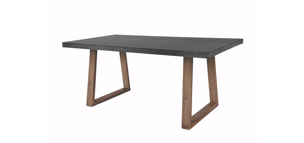 Table rectangulaire katunga 180 cm d couvrez nos tables for Pieds de table design pas cher
