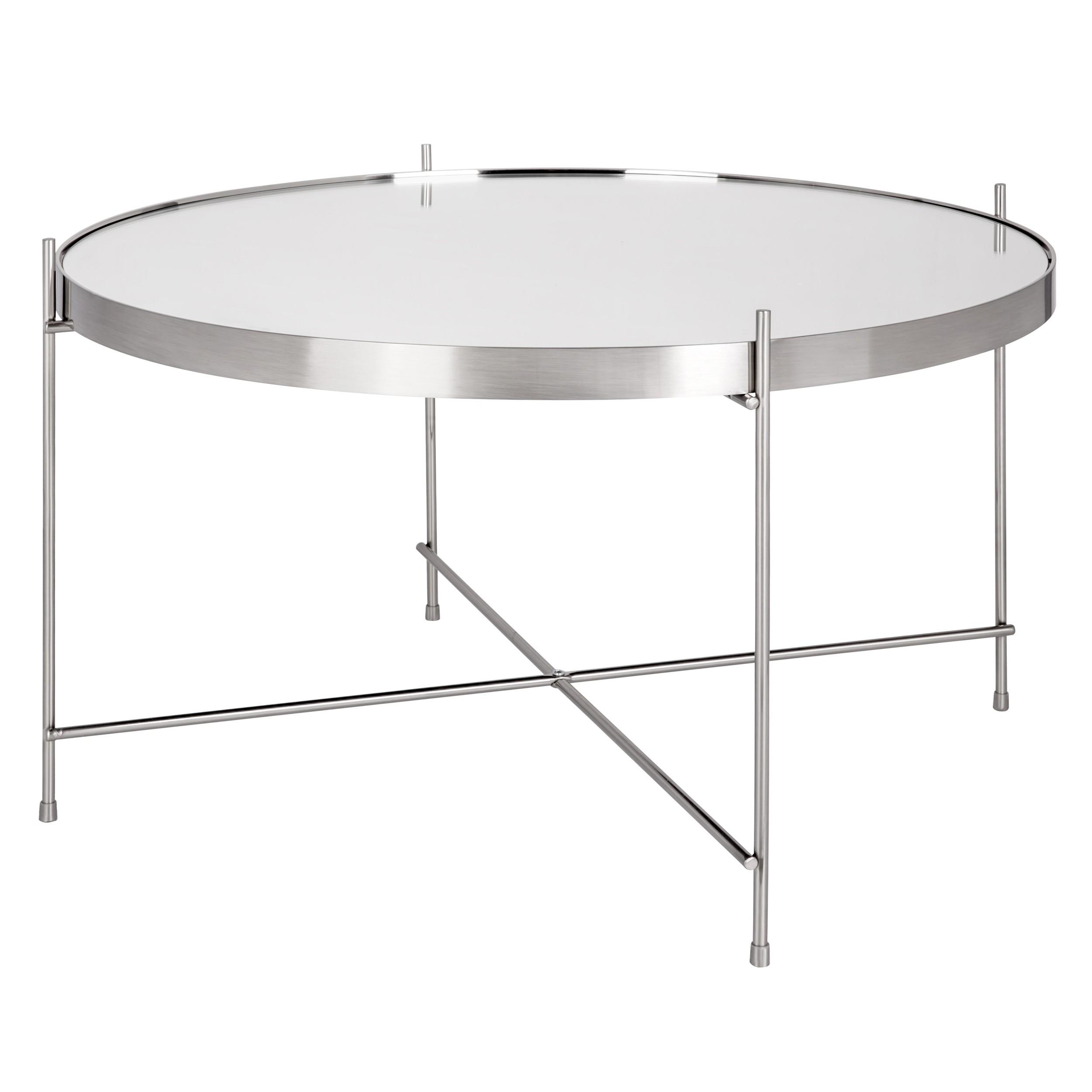 table basse ronde valdo argent m choisissez nos tables basses rondes valdo argent m rdv d co. Black Bedroom Furniture Sets. Home Design Ideas