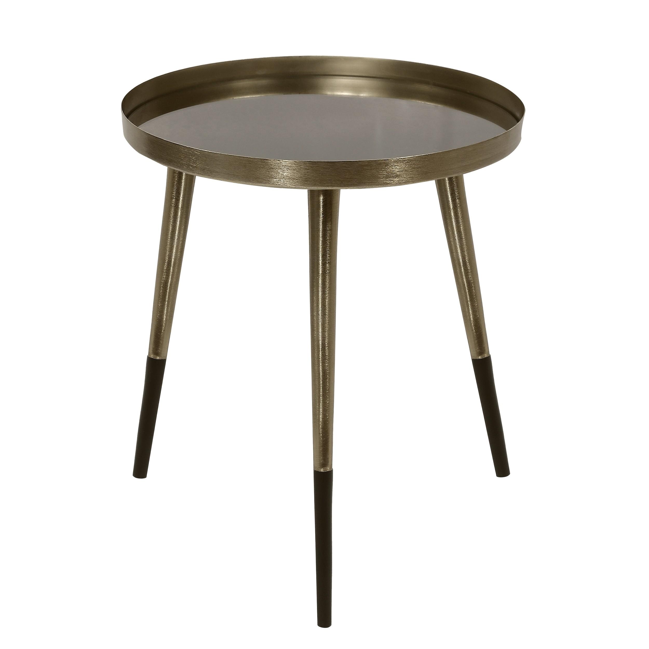 table basse ronde almalu laiton commandez les tables. Black Bedroom Furniture Sets. Home Design Ideas