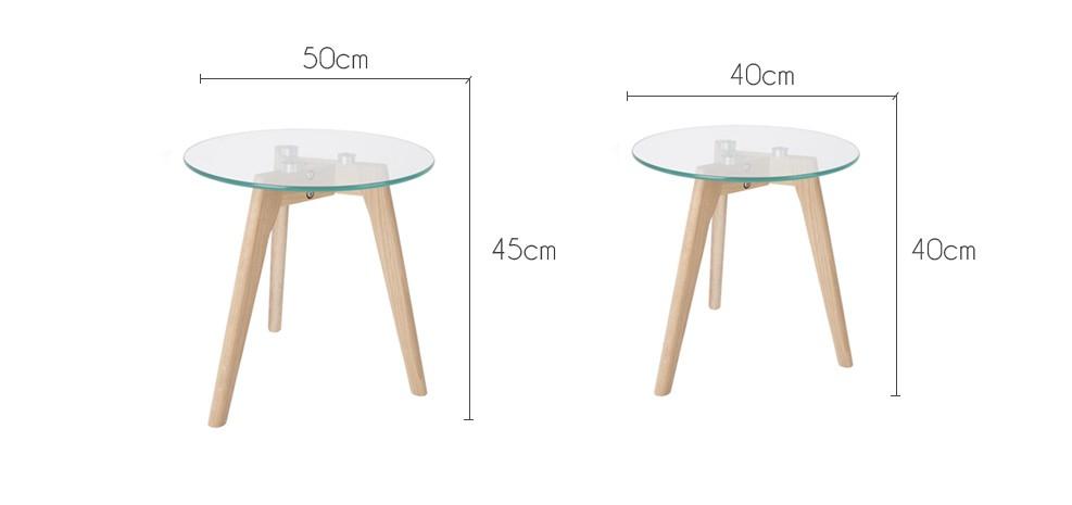 Table basse Bror lot de 2 choisissez nos lots de 2 tables basses