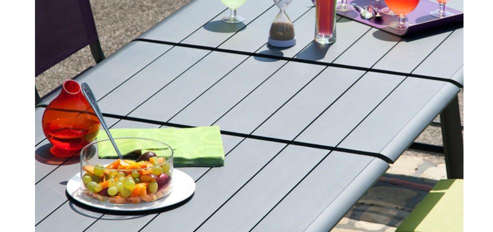 Table De Jardin Rallonge. Simple Table De Jardin Extensible Timber ...