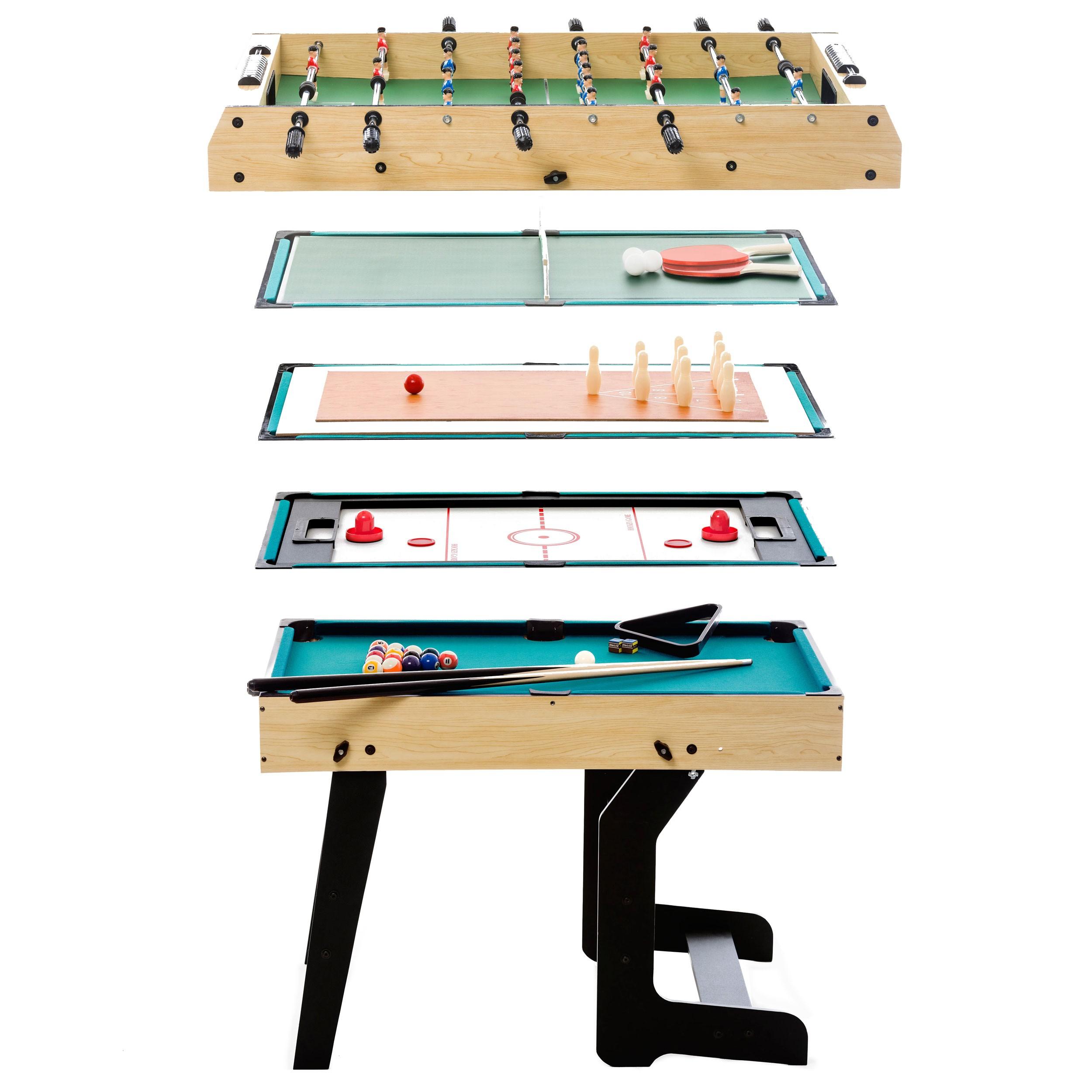 achat table multi jeux 16 en 1 pliable