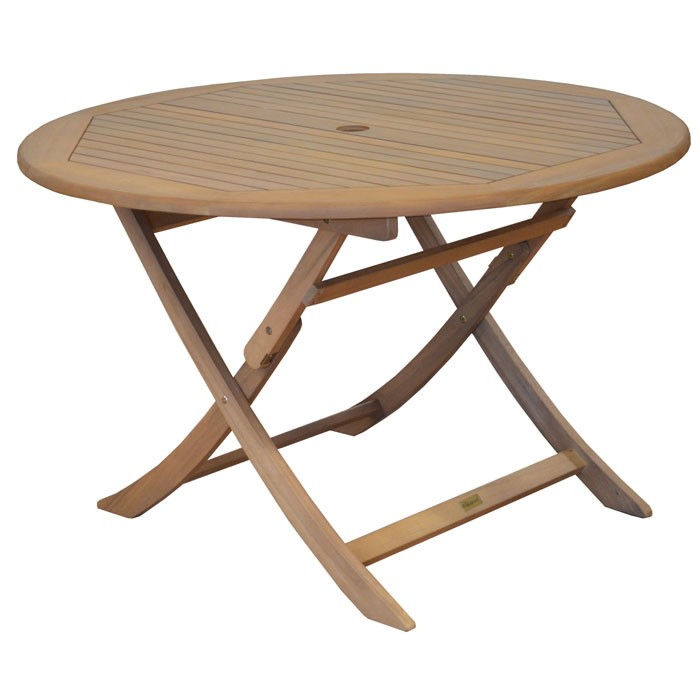 table ronde pliante en bois amazing table de jardin pliante en teck brut diametre cm with table. Black Bedroom Furniture Sets. Home Design Ideas