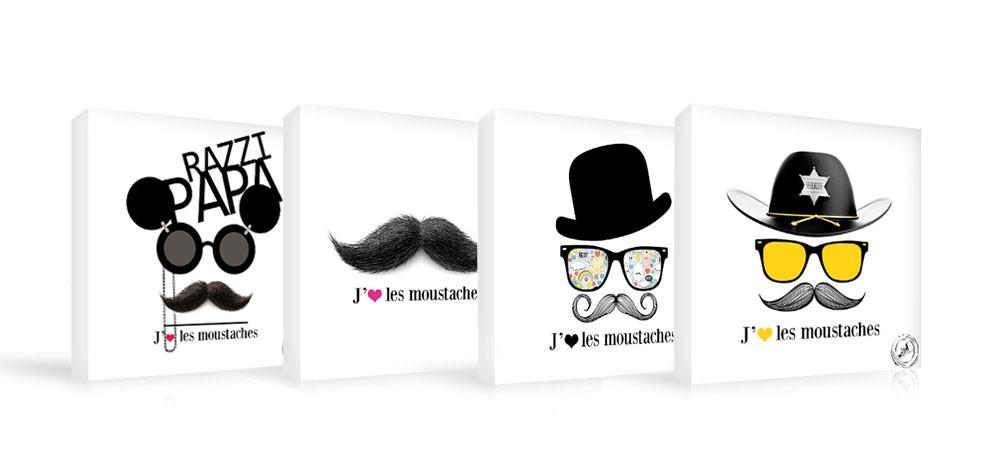 Tableau Moustache Aristo Choisissez Nos Tableaux