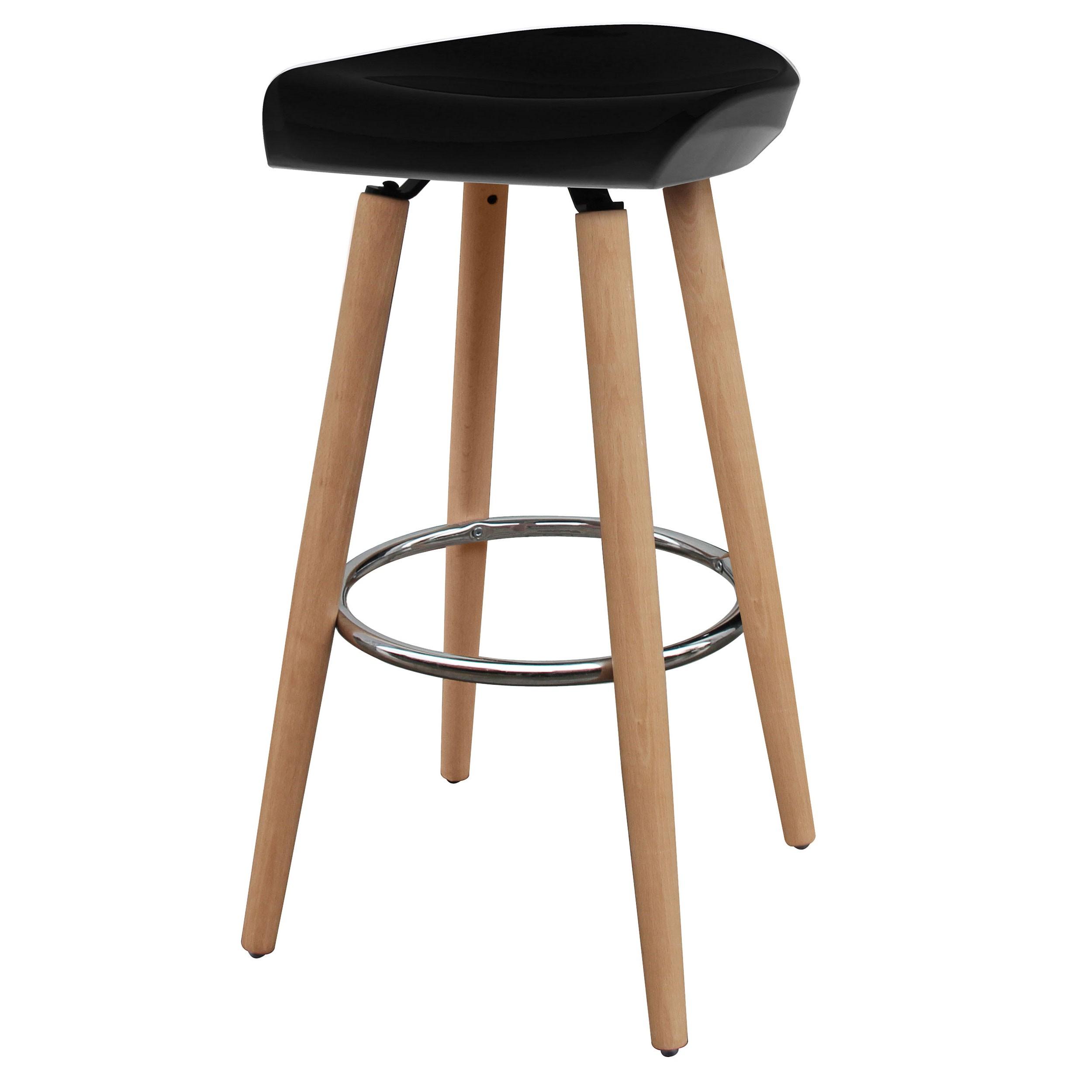 tabouret de bar helio noir testez l 39 assise de nos tabourets de bar helio noirs rdv d co. Black Bedroom Furniture Sets. Home Design Ideas