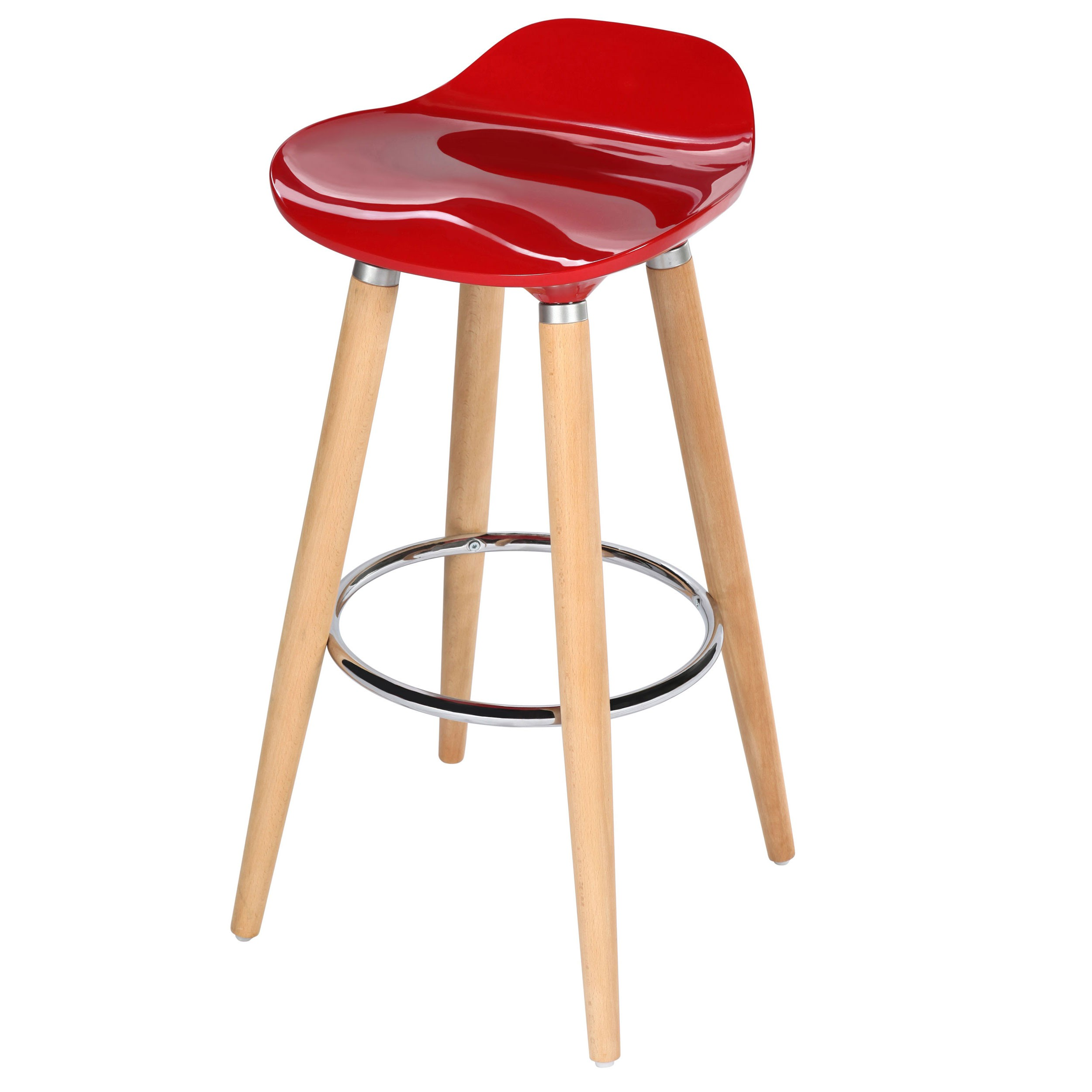 Tabouret de bar italien rouge achetez nos tabourets de bar italiens rouges rdv d co - Tabouret de bar design rouge ...
