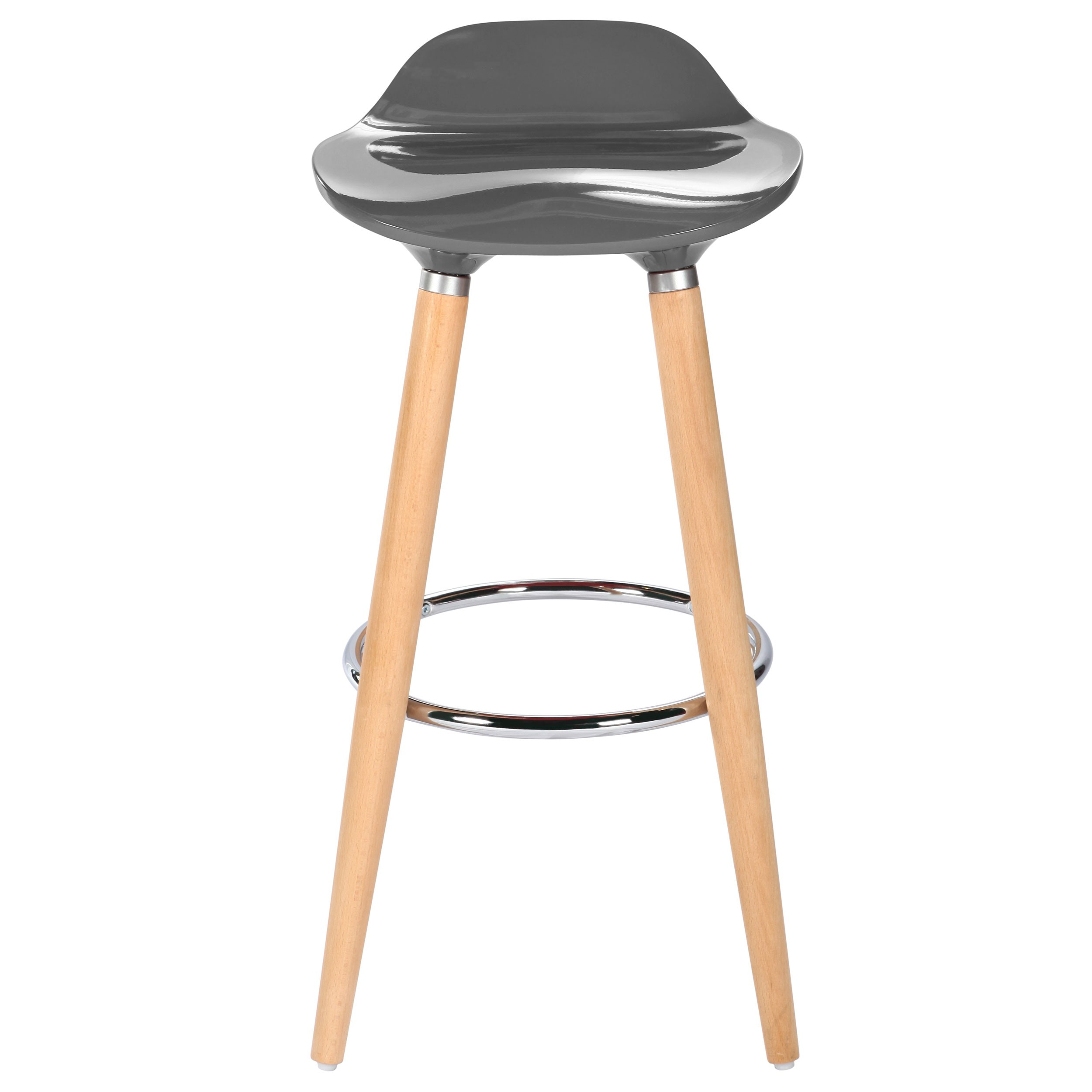 tabouret de bar italien gris commandez nos tabourets de. Black Bedroom Furniture Sets. Home Design Ideas