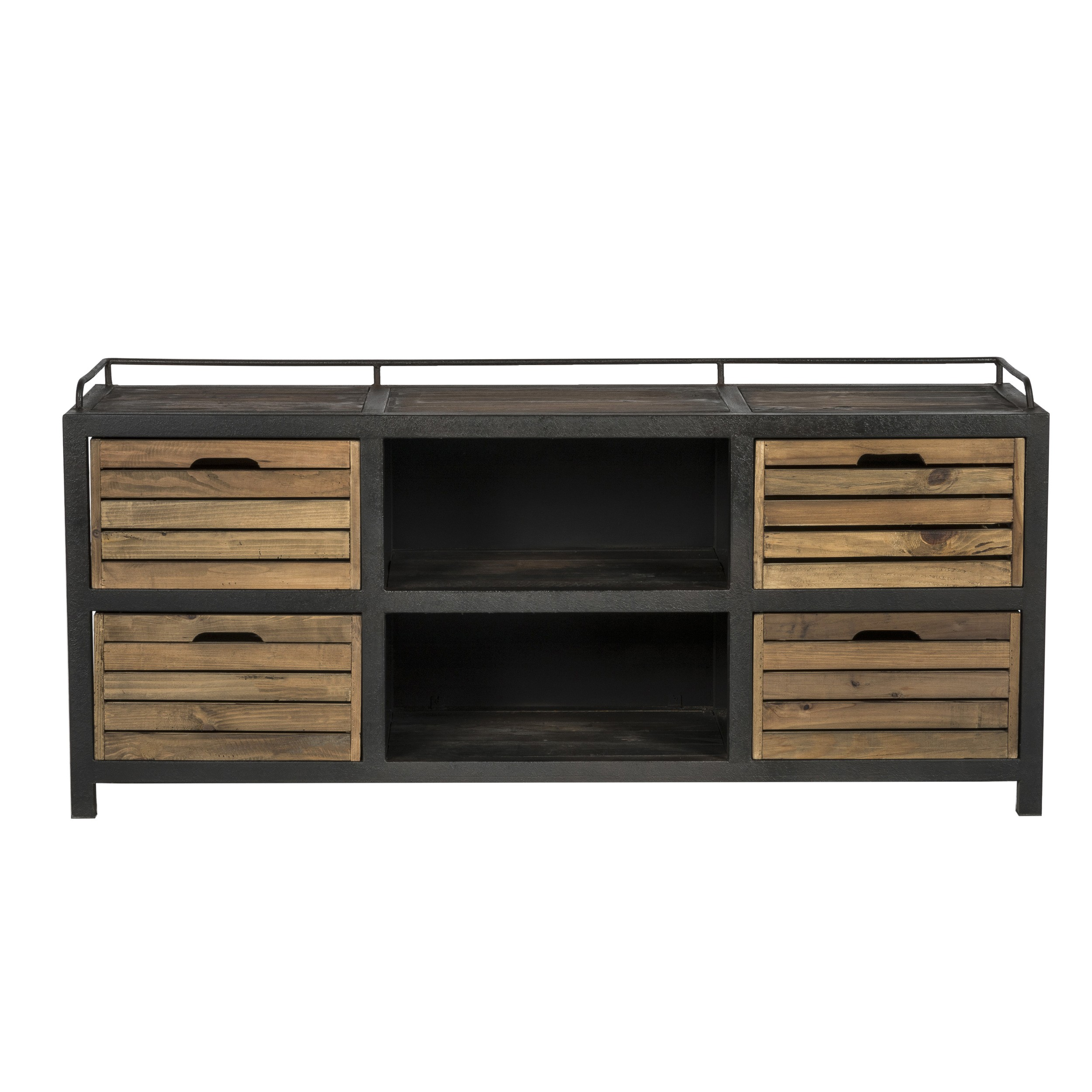 buffet aban 2 niches 4 tiroirs d couvrez les buffets. Black Bedroom Furniture Sets. Home Design Ideas