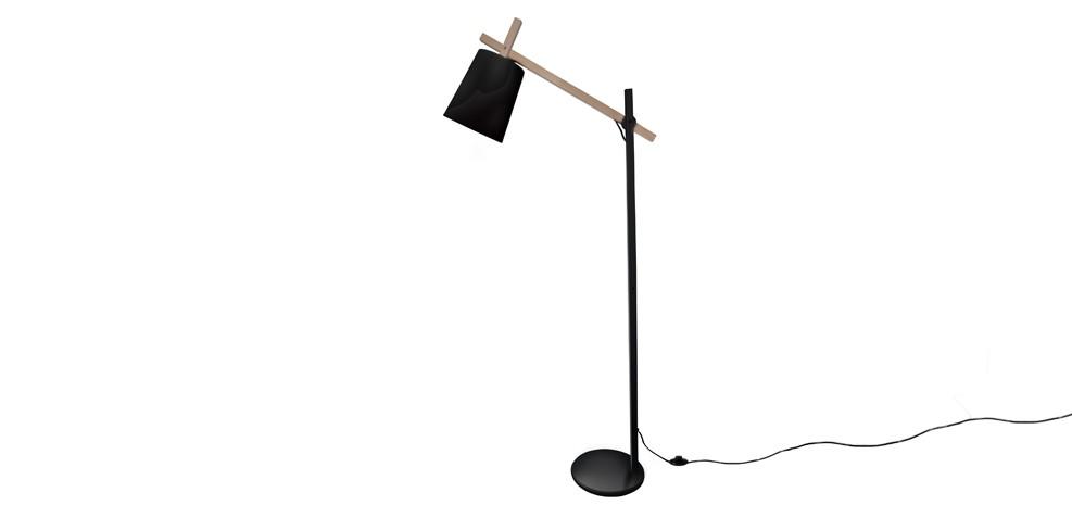 acheter lampe noire bois metal scandinave bon prix Résultat Supérieur 15 Impressionnant Lampadaire En Metal Photos 2017 Ksh4