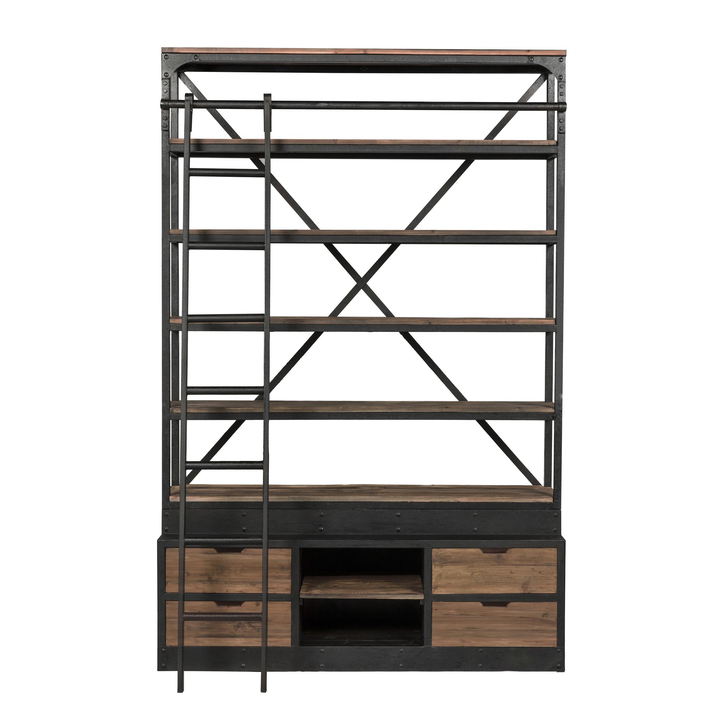 biblioth que kasi 160 cm avec chelle commandez nos biblioth ques kasi 160 cm avec chelle rdv. Black Bedroom Furniture Sets. Home Design Ideas