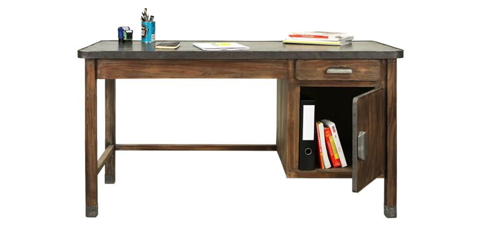 Bureau en bois vieilli achetez nos bureaux en bois vielli rdv d co - Acheter des meubles pas cher ...