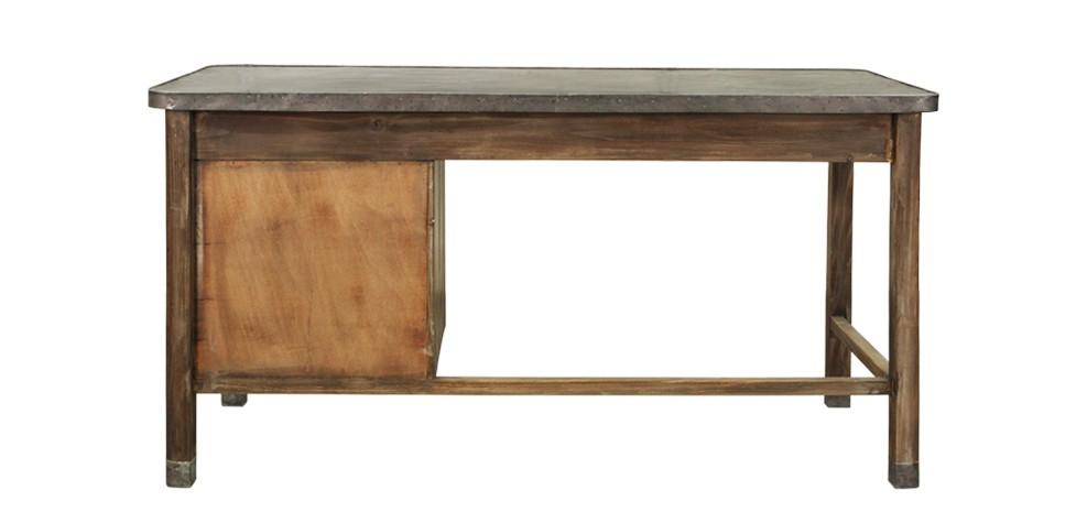 bureau en bois vieilli achetez nos bureaux en bois vielli rdv d co. Black Bedroom Furniture Sets. Home Design Ideas