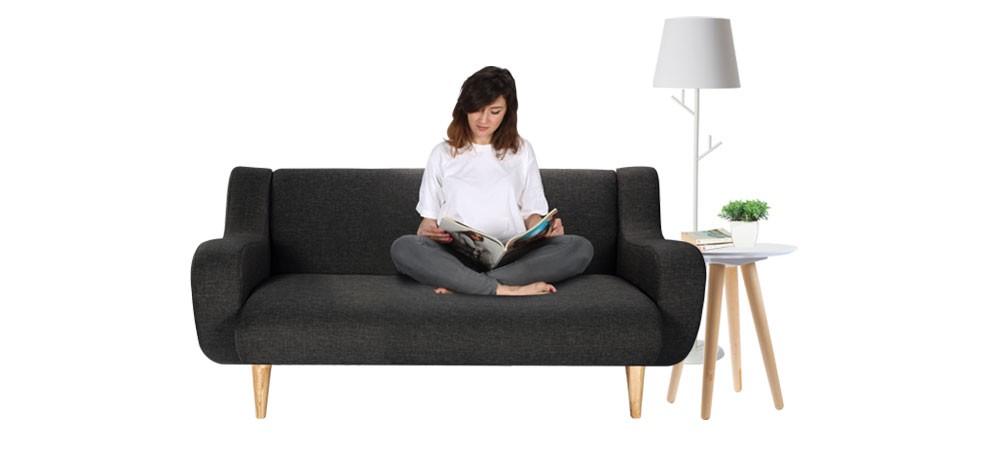 canap stockholm 2 places achetez nos canap s tissu 2 places petit prix rdv d co. Black Bedroom Furniture Sets. Home Design Ideas