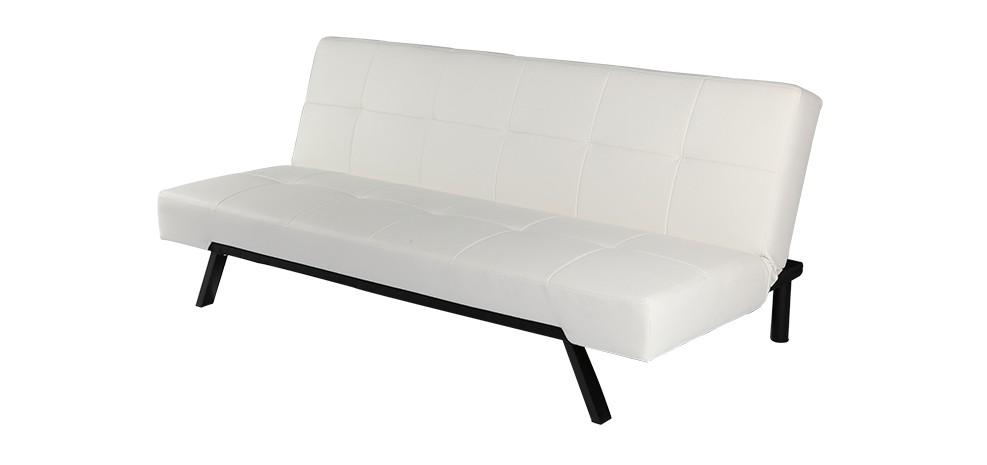 canap lit blanc milano canap lit design prix usine rdv d co. Black Bedroom Furniture Sets. Home Design Ideas