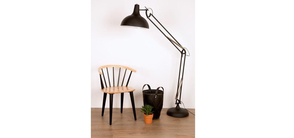 Bien-aimé Chaise Gee noire : commandez notre lot de 2 chaises Gee noires à  BI44