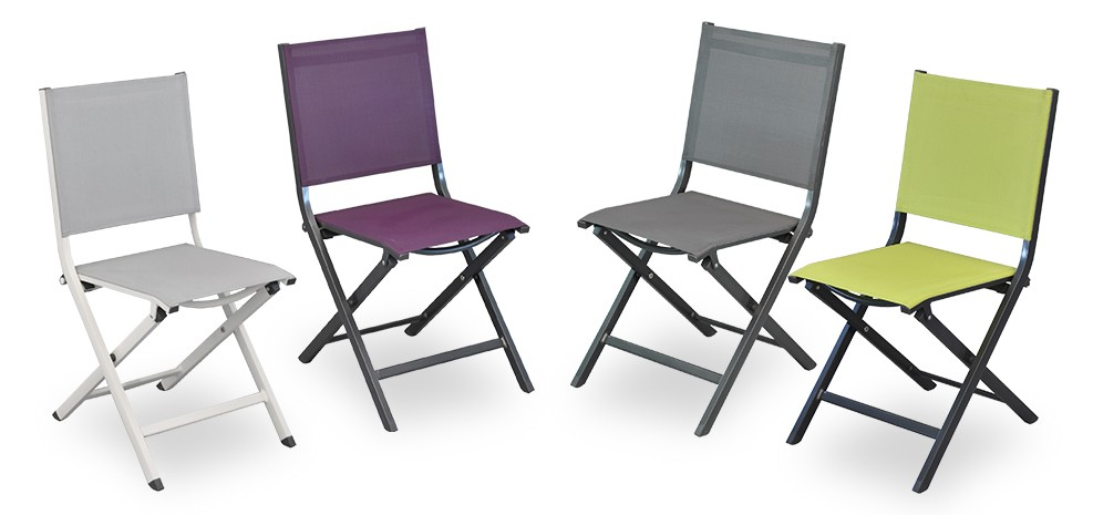 chaise de jardin terra gris fonc lot de 6 d tendez. Black Bedroom Furniture Sets. Home Design Ideas