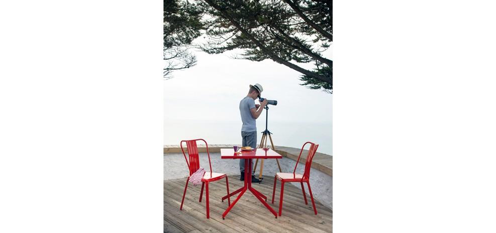 chaise de jardin azuro rouge lot de 2 d couvrez nos chaises de jardin azuro rouges lot de 2. Black Bedroom Furniture Sets. Home Design Ideas