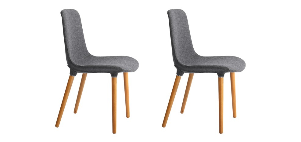 Chaise aldrik lot de 2 adoptez les chaises aldrik lot for Lot de 6 chaises conforama