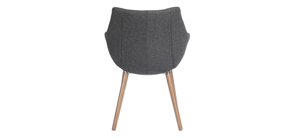Chaise tissu grise commandez nos chaises en tissu grises for Chaise petit prix