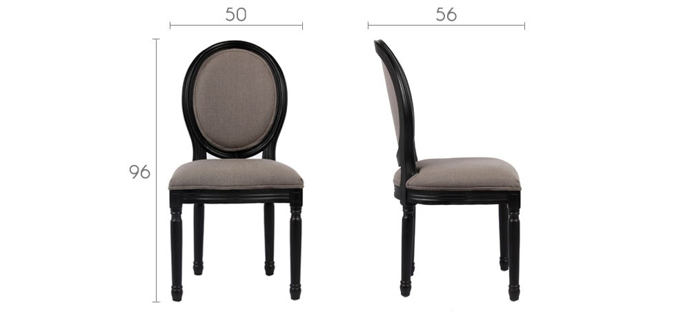 chaise louis xvi grise commandez nos chaises louis xvi. Black Bedroom Furniture Sets. Home Design Ideas