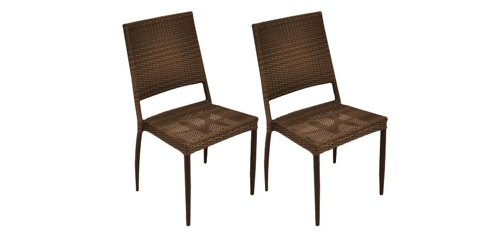 chaise papeete marron installez vous sur nos chaises papeete marron prix mini rdv d co. Black Bedroom Furniture Sets. Home Design Ideas
