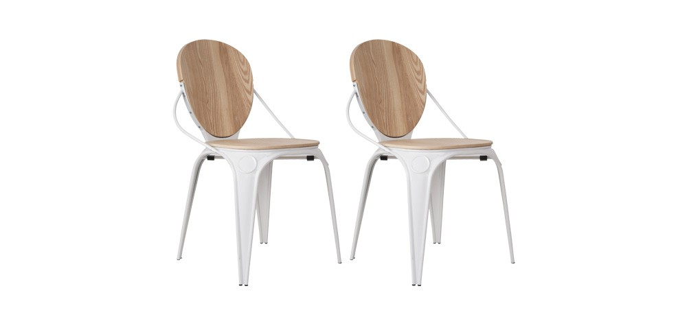 Chaise Louis Industry blanche : testez nos chaises Louis Industry ...