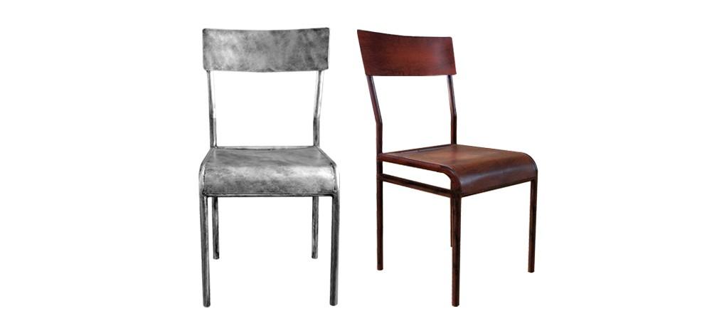 Chaise m tal grise optez pour nos chaises m tal grise for Chaise 1er prix