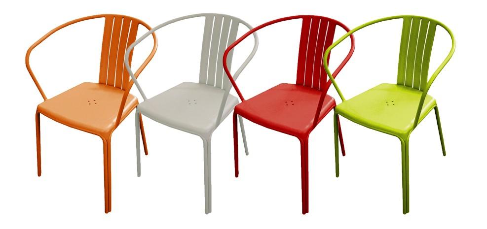 Fauteuil de jardin Azuro vert (lot de 2) : adoptez nos fauteuils ...