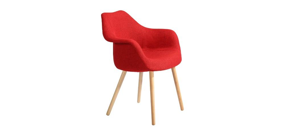 chaise anssen rouge d couvrez nos chaises anssen rouges design rdv d co. Black Bedroom Furniture Sets. Home Design Ideas
