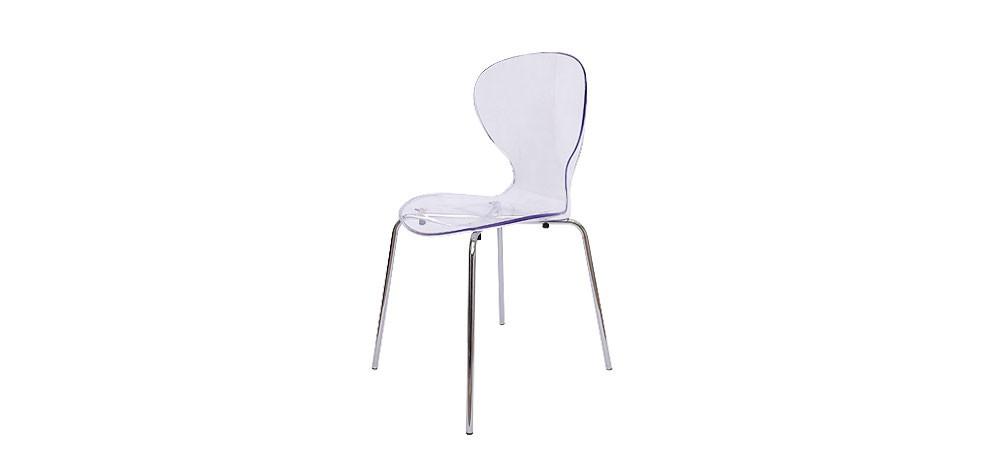 Chaise poppy optez pour nos chaises en plexiglass rdv d co - Chaise plexiglass transparente ...