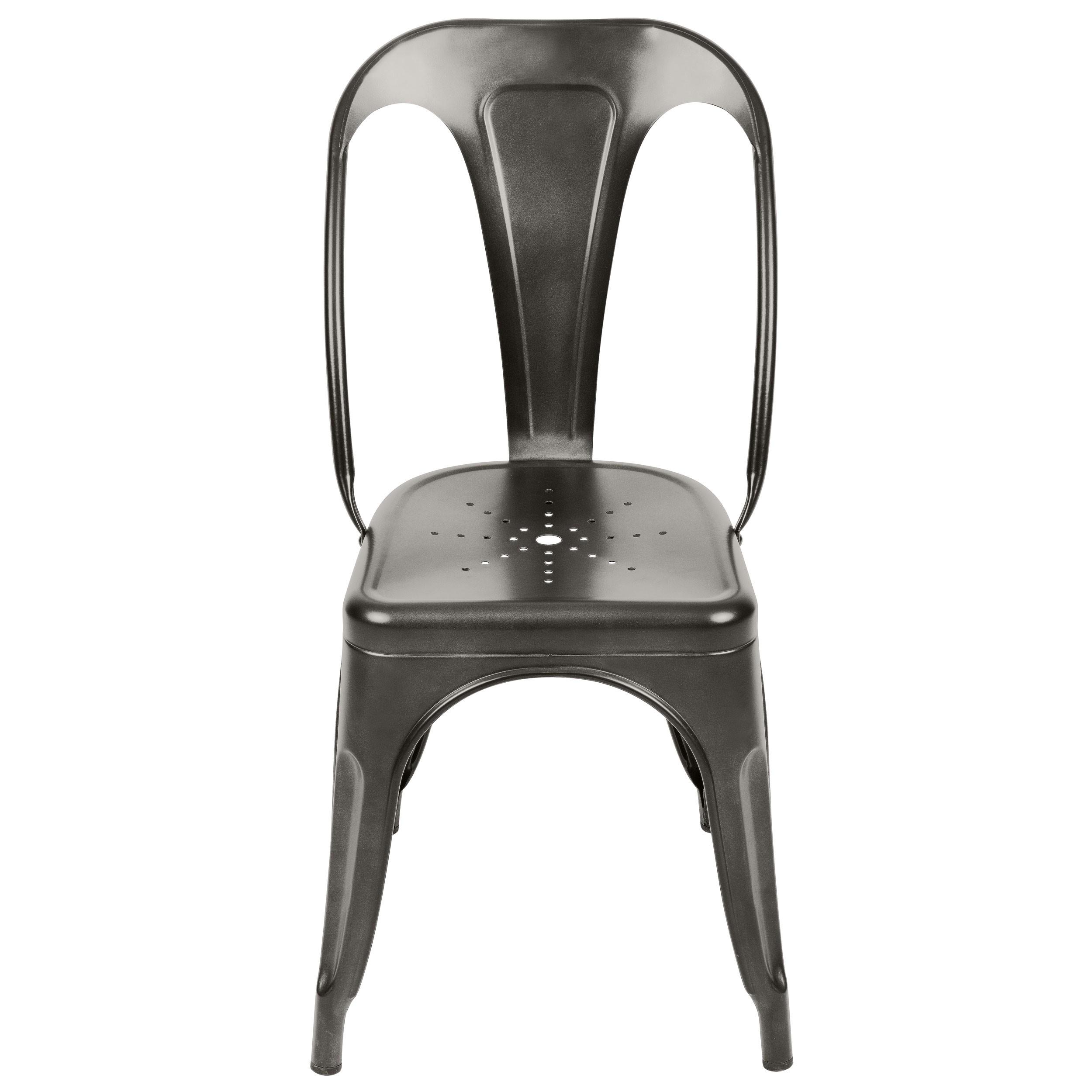 chaise indus gris anthracite lot de 2 commandez nos chaises indus gris anthracite lot de 2. Black Bedroom Furniture Sets. Home Design Ideas