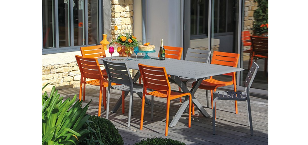 Chaise Isla Orange : découvrez nos chaises Isla orange à petit ...