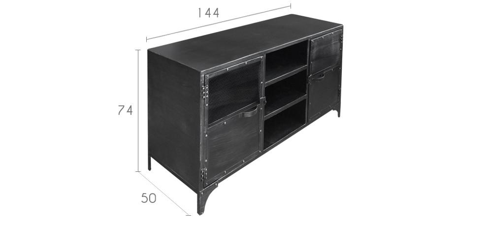 buffet bas loft disponibilit puis - Meuble Tv Bas Ateca Turnbox S Blanc