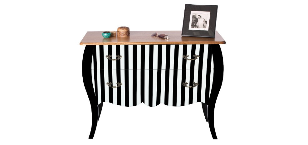 commode noire et blanche admirez nos commodes noires et blanches rdvdeco. Black Bedroom Furniture Sets. Home Design Ideas